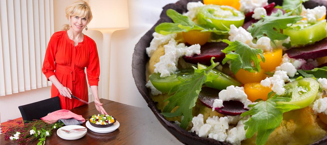 海外デリのショーケースを再現!お惣菜タルト