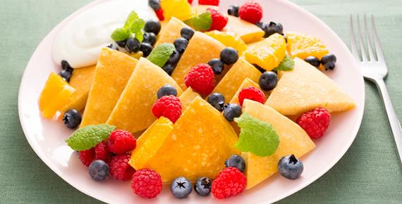 ソルガムきびのグルテンフリーパンケーキ