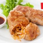 肉巻きソルガムの韓国風