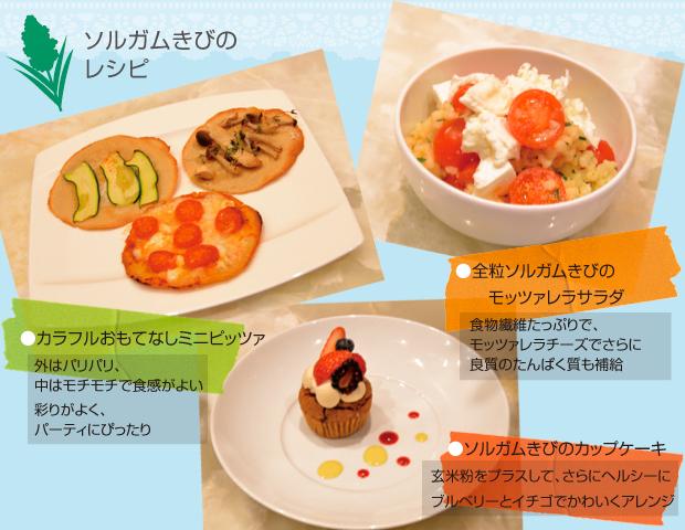 ソルガムきびのレシピ