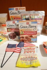 アメリカで抗酸化食品として人気のある有食ソルガムきび製品「グレインベリー」