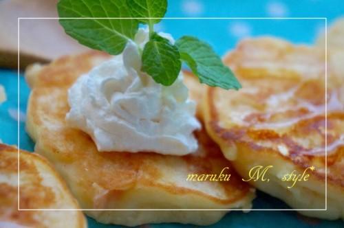 アップルチーズパンケーキ