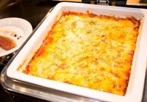 ソルガムきびと野菜のラタトゥーユの豆乳グラタン
