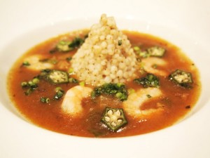 ソルガムきびのガンボスープ