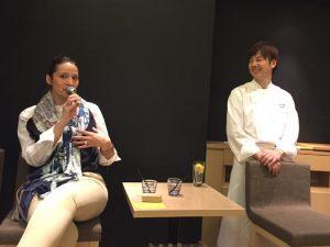 ナディアさんとHATAKE CAFE 神保シェフ