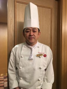 札幌全日空ホテル 総料理長 夏伐俊弘氏
