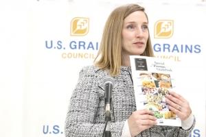 アメリカ大使館 農産物貿易事務所 所長のレイチェル・ネルソン氏