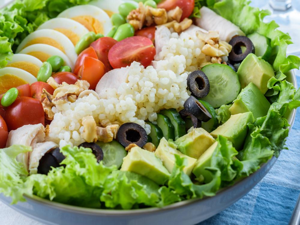高タンパク&グルテンフリーの食事で 運動効果を高める