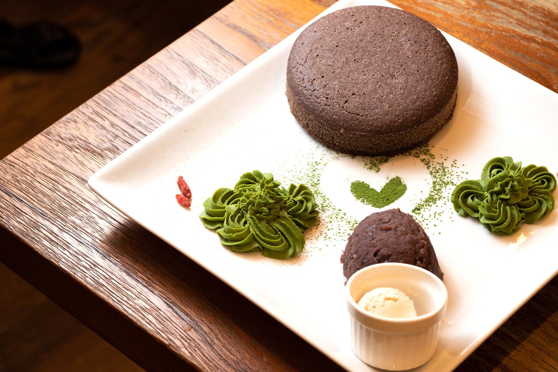 ブラックソルガムきびのパンケーキ