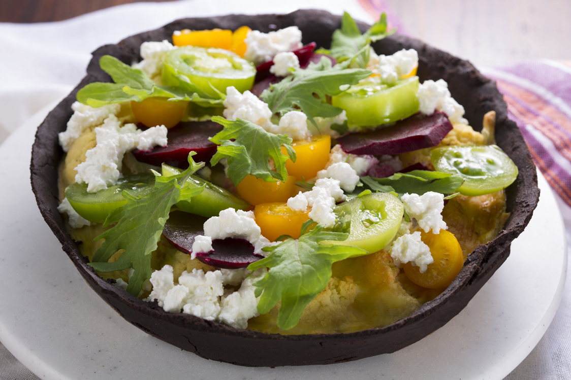 ブラックソルガムきびのお惣菜タルト