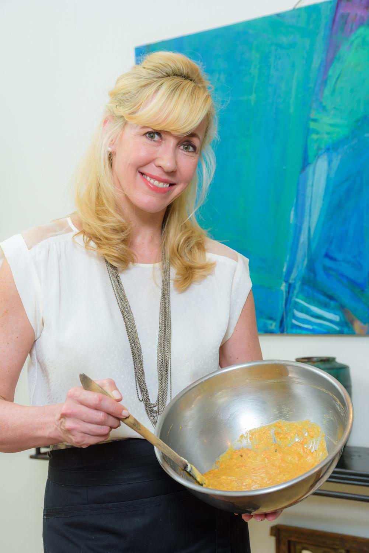 キャロット・バナナ・ブレッド Carrot Banana Breadをつくるエリカアンギャルさん