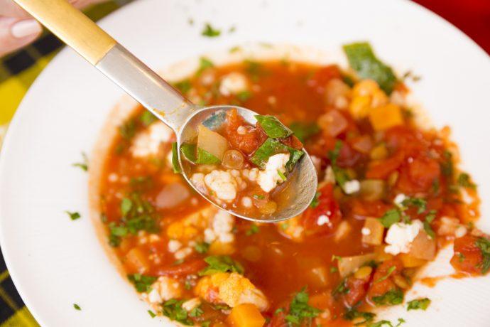 働く忙しい女性にもピッタリな、まさに食べる美容スープ