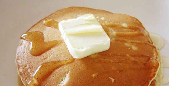 ホワイトソルガムきびを使った アメリカンパンケーキ