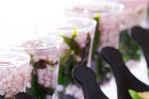 水前寺菜とソルガムきびのおひたし