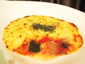 ソルガムきび&ラタトゥイユの豆乳グラタン