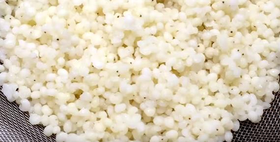ホワイトソルガムきび粒の冷凍保存と活用