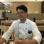 島田佳明シェフ(ANAクラウンプラザホテル大阪 カフェ・イン・ザ・パーク調理長)