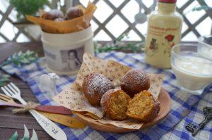 ソルガムきびでモチモチ・ムギュン♪生姜と黒糖の豆乳ドーナツ