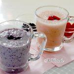 ソルガム甘酒(ブルーベリー&ストロベリー)