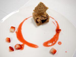 「チョコレートマーブルケーキ」と「サクサク雑穀シードクラッカー」