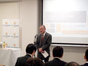 アメリカ穀物協会 日本事務所代表 浜本哲郎