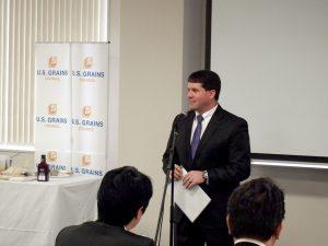 在札幌米国総領事館 ジャスティン・トール領事