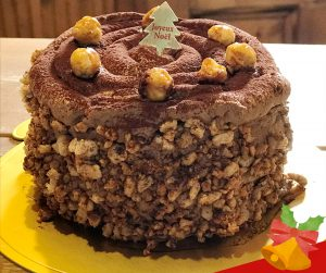 Gluten free ヘーゼルナッツのチョコレートケーキ