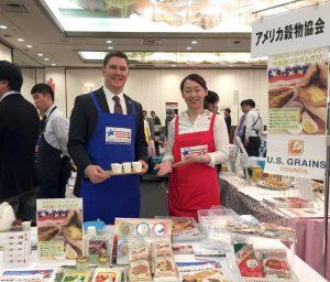 Spring Food Festival 2019 (札幌)で、米国産ホワイトソルガムきびの試食イベントを行いました