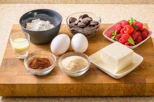 ソルガムきびと豆腐のガトーショコラ