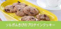 ソルガムきびのプロテインクッキー