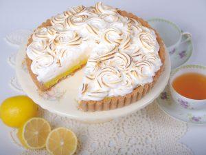 レモンメレンゲパイ(Lemon Meringue Pie with White Sorghum Flour)