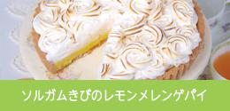 ソルガムきびのレモンメレンゲパイ